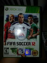 Xbox 360 Fifa Soccer 12 game