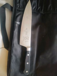 Mercdr rennaisance chef knife with case