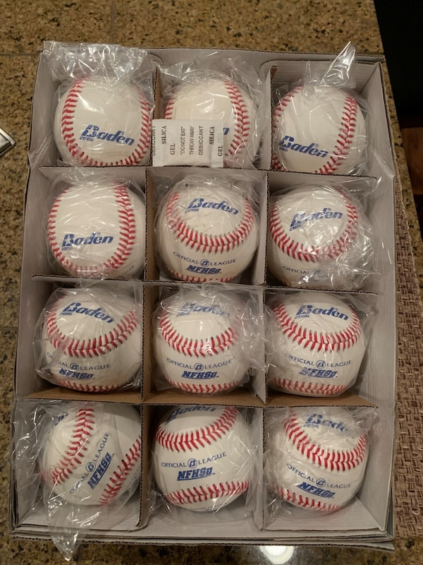 Baseballs For Sale >> Used Brand New Baden Premium Baseballs For Sale In Sammamish Letgo