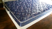 double mattress 120 box 40 delivery 30. clean pet smoke free Edmonton, T6B 1C2