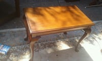 High quamity hand made end table real wood beautif North Saanich, V8L 3Z5