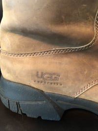 Pair of brown tan Ugg winter fur boots Calgary, T3G 3E8