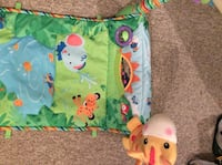 baby's green and blue bouncer London, N6G 3A6