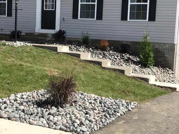 Landscape-Concrete-Retaining Walls-Roofing-Hard and SoftScape