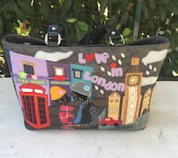 Borsa Braccialini Love in London Turin