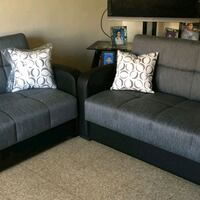 Sofa and love seat beds with storage Bronx, 10467