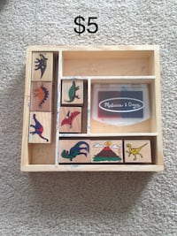 Melissa and Doug Dinosaur Stamp Set Mississauga, L5W