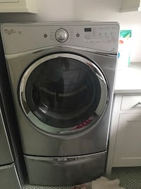 Whirlpool electro steam dryer