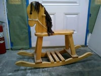 Wooden rocking horse League City, 77573
