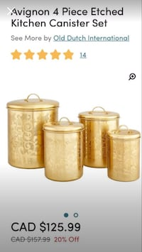Storage Canister Set