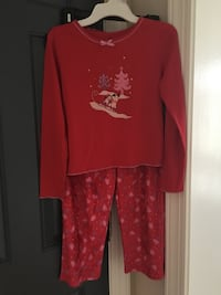 Girls size 10/12 winter pajama Centreville, 20120