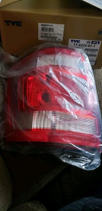Ford Escape driver side tail light assembly