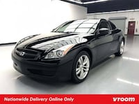 2009 INFINITI G37 Coupe Black Obsidian coupe Houston