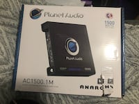 Amplifier for vehicle stereo, new in box Villa Rica, 30180