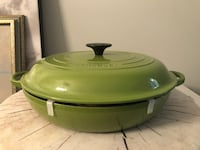 Le Creuset 3.5L Brasier in Palm Colour: New & Never Used Toronto