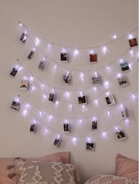 photo clip string lights Vancouver
