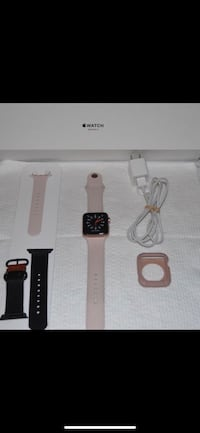 SPRINT APPLE WATCH SERIES 3 42MM GOLD AL PINK SAND BAND SPORT (GPS+CELLULAR). COME WITH EVERYTHING PLUS EXTRA TOMS BAND, RUGGED ARMOR PROTECTIVE CASE. Phoenix, 85037