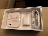 Original charger and earbuds brand new, never used Coquitlam, V3E 0A5