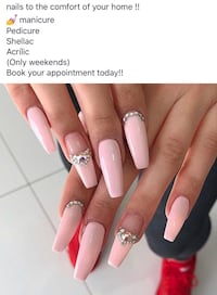 Nails! At your home Brampton, L6V 4A8