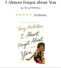 I almost got away with it by Terry McMillah book  Centreville, 20120