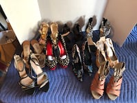 Lot of 9 Women's Heels Size 8 Price is For All Manassas, 20112