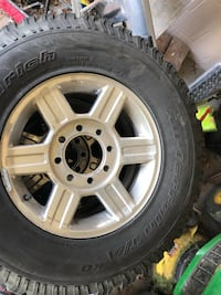8 lug rims/tires Omaha, 68137
