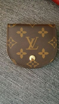 brown Louis Vuitton Monogram leather coin purse Kingston, K7M