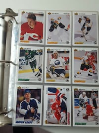 Hockey trading card collection. or best offer. I also have other