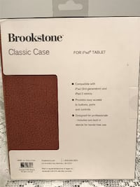 Brookstone iPad Tablet Case Stafford Courthouse