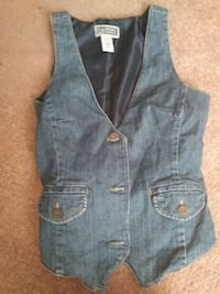 blue denim vest Las Vegas, 89106