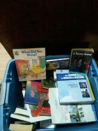 Tote full of assorted of books Moline