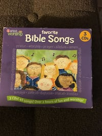 Bible Songs CD. Columbia, 21045