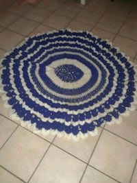 Hand crocheted tablecloth / rug