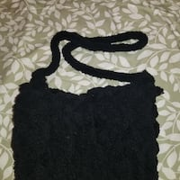 Handknitted chunky bag Prince George's County