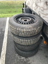 Rims and tires only 195/70R14  Ranson, 25438
