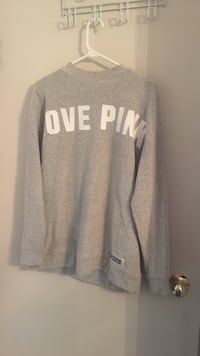 Grey Pink crew neck sweater Hamilton