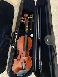 Frank Denti violin plus bow. Arlington