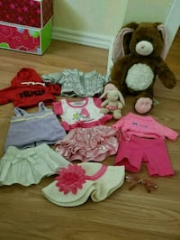 Build a bear plus clothing
