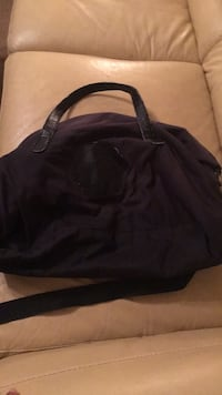 black and gray leather tote bag Woodbridge, 22191