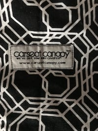 Carseat Canopy product label