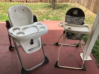 High chairs used good condition