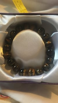 tiger's eye beaded bracelet Richmond, V7A 4P6