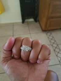 diamond and silver ring Sierra Vista, 85650