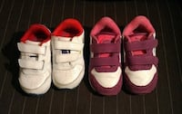 PUMA Toddler Running Shoes- Velcro Size 6US Girls and Size5 US Boys  Boys Toddler Runners- Size 5US worn once - mint condition $ 20  Girls Toddler Runners - Size 6US worn a few times -Excellent condition $20  VIEW MY OTHER ADS!!!