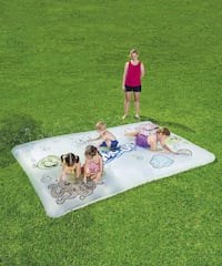 Water art play mat with crayons NEW