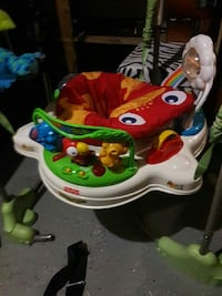 baby's multicolored jumperoo Derry, 03038