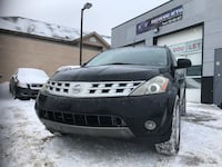 Finance available! Safetied 2003 Nissan Murano se Awd