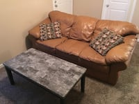 Brown leather couch  Albuquerque, 87111