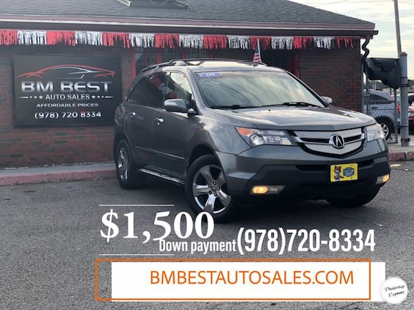 2008 Acura Mdx For Sale >> Used 2008 Acura Mdx For Sale