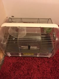 white and gray pet cage Эдмонтон, T6W 2C3